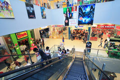 SM miasta zakupy centrum handlowe w Clark zdjęcie royalty free