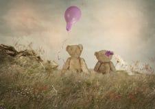 Små romantiker Fotografering för Bildbyråer
