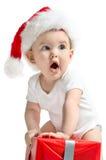 Små Santa Claus Royaltyfria Foton