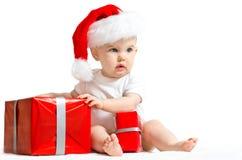 Små Santa Claus Arkivfoto