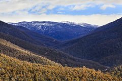 SM Snowy river valley mounts Stock Image