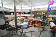 SM stadswinkelcomplex in Clark Royalty-vrije Stock Afbeelding