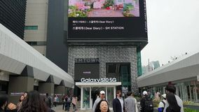 Sm town in Coex mall Seoul South Korea