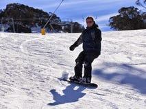 SM Yuri Slope Snowboard arkivbilder