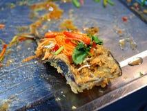 Smażąca makrela nakrywająca z cukierki, kwaśnego i gorącego korzennym kumberlandem, Obrazy Royalty Free