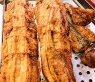 Smażąca ryba dzwoniąca kibbeling obrazy royalty free