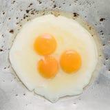 smażący śniadaniowi jajka Obrazy Royalty Free