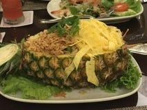 smażący ananasowi ryż Fotografia Stock
