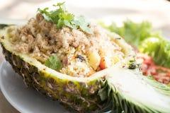 smażący ananasowi ryż Obraz Stock