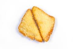 Smażący chleb Zdjęcia Stock