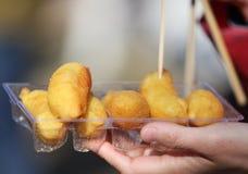 Smażący durian Obraz Royalty Free