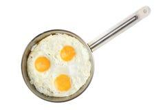 Smażący jajka Fotografia Royalty Free
