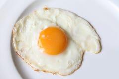 Smażący 1 jajko Zdjęcia Royalty Free