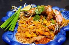 smażący kluski ochraniacza ryż s tajlandzki Thailand Obraz Stock