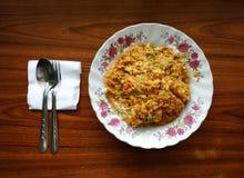 Smażący kraba curry Zdjęcie Stock