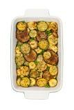 smażący oberżyny wyśmienicie jedzenie piec na grillu pieczarek odżywczych smakowitych pomidorów pożytecznie warzywa jarskich Fotografia Stock
