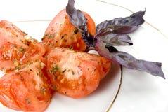 smażący pomidory Obraz Stock