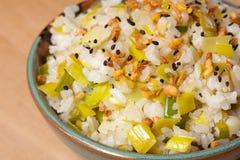 Smażący Rice Fotografia Royalty Free