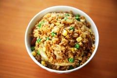 Smażący ryż obrazy royalty free