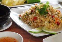 smażący ryż Fotografia Stock