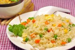 smażący ryż Zdjęcia Royalty Free