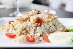 smażący ryż Fotografia Royalty Free