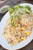 Smażący ryż, tajlandzki styl Zdjęcia Royalty Free