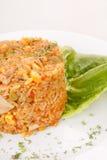 smażący ryżowi warzywa obrazy royalty free