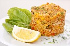 smażący ryżowi warzywa Obraz Royalty Free