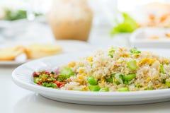 smażący ryżowi warzywa zdjęcia royalty free