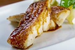 Smażący w mąk codfish Obraz Royalty Free