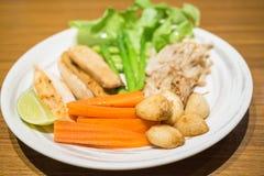 Smażący warzywa Obraz Stock