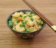 smażona ryżowa krewetki Fotografia Royalty Free
