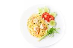 smażona ryżowa krewetki Zdjęcie Stock