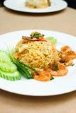 smażona ryżowa krewetki Fotografia Stock
