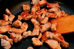 smażone mięsa Zdjęcia Royalty Free