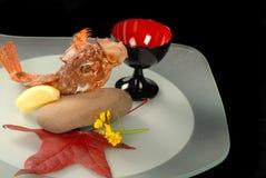 smażone ryby głęboko lemon lwa Fotografia Royalty Free