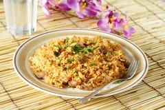 smażony ryż. Fotografia Stock