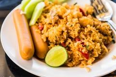smażony ryż Obrazy Royalty Free