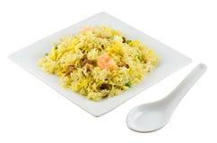 smażony ryż. obraz royalty free