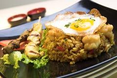 smażony ryż indonezyjskiego Obrazy Royalty Free