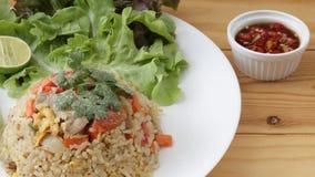 smażony ryż z tajlandii Obrazy Stock