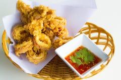 smażone calamari Zdjęcia Stock
