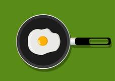 smażone jajka Fotografia Royalty Free