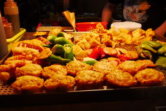 smażone jedzenie Zdjęcie Royalty Free