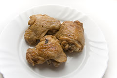 smażone kurczaki podudzia Zdjęcie Stock