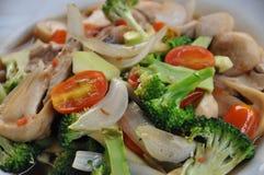 smażone warzywa Zdjęcie Royalty Free
