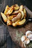 smażone ziemniaki Fotografia Stock