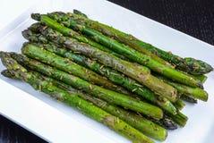 Smażony Zielony asparagus Obraz Stock