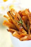smaży kartoflanego cukierki Obrazy Stock
